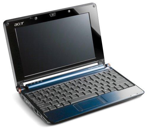Acer Aspire One A150X blau 22,6 cm (8,9 Zoll) WSVGA Netbook (Intel Atom N270 1,6 GHZ, 1GB RAM, 120GB HDD, XP Home)