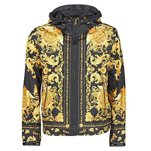 Versace Jeans Couture Herren Winterjacke Baroque Nero 48 EU