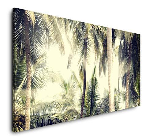 Paul Sinus Art Vintage Natur Hintergrund 120x 60cm Panorama Leinwand Bild XXL Format Wandbilder Wohnzimmer Wohnung Deko Kunstdrucke
