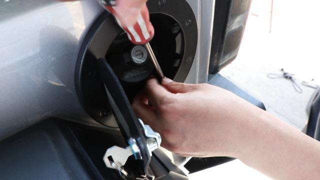 OEM NEW Sedan Panel Fuel Tank Filler Door Paint to Match 04-06 Chevrolet Aveo