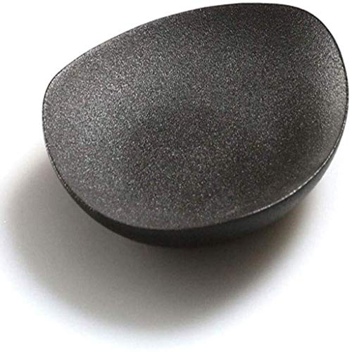 PIVFEDQX Exquisite Ceramic Frosted Stone Coasters, 6 Pieces of Anti-Skid and High Temperature Coasters with A Diameter of 4 Inches, Can Prevent Furniture from Being Stained and Scratch 8.8