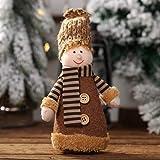 VijTIAN - Gorro de Punto con diseño navideño para niño o niña, para Fiestas...