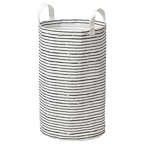 Klunka IKEA Wäschesack in weiß/schwarz; (60l)