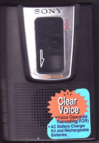 Sony TCM-454VK - Cassette recorder - black