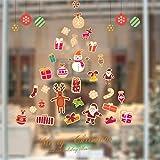 Weihnachten Fensteraufkleber,Frohe Weihnachten Baum