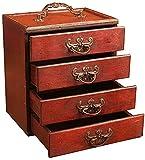 Vintage Großer Schmuck Organizer Mehrschichtige Box Ringe Lagerung Einzigartiges Geschenk Wohnkultur, Bestes Ornament Ihrer Sammlung