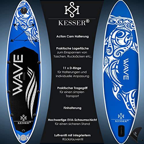 Kesser SUP Board Aqua / Limit / Vario - 2