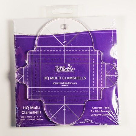 HQ Multi Clamshell Template Quilt Tools