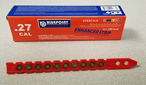 BluePoint Fasteners .27 Cal Strip Load Red (Enhanced) for Powder Actuated Fastening System