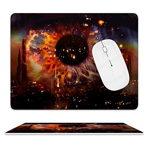 Blade Runner 2049 Mouse Pads Leather Mouse Pad is Stylish,Lightweight,Waterproof,and 3D Printed,Very Suitable for Gaming,Office Design,and Anyone Who Needs Perfect Mouse Control