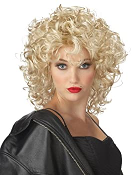 California Costumes Women s The Bad Girl Wig BLONDE One Size