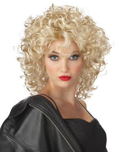 California Costumes Women's The Bad Girl Wig, BLONDE, One Size
