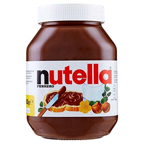 Nutella Ferrero - Crema Cacao y avellanas, Embalaje de Vidrio 1000g