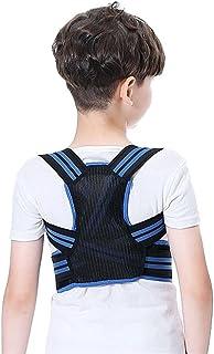 Soutien dorsal et correction de posture Enfants ajustables Posture Correcteur Back Courroie Support Kid Garçon Garçon Orth...