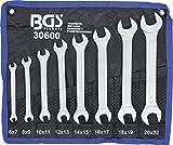 BGS 30600   Doppel-Maulschlüssel-Satz   SW 6 - 22 mm   8-tlg.