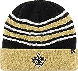 '47 Orleans Saints Gold Black Cuff Knit Beanie Cap Hat