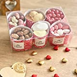 chocolat saint valentin - coffret 6 specialites de chocolat st valentin - chocolat artisanal -
