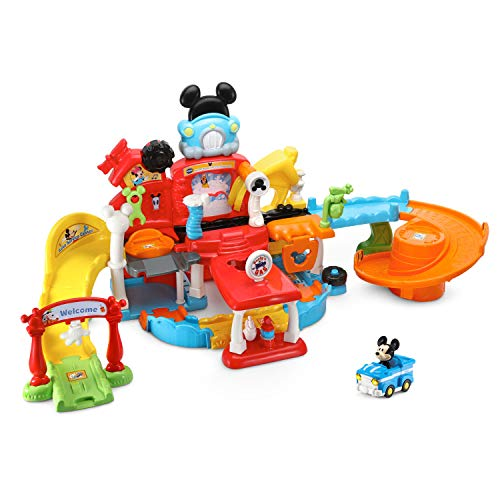 VTech Go! Go! Smart Wheels Disney Mickey Mouse Gas and Go Repair Shop (Frustration Free Packaging)