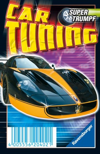 Ravensburger 20402 - Car-Tuning, Supertrumpf