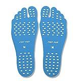 Beach Invisible Shoes Fußaufkleber, Beach Foot Pads für Barfuß