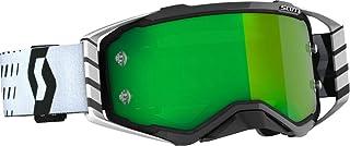 Scott Prospect MX Goggle Cross/MTB Brille schwarz/weiß/grün Chrom Works