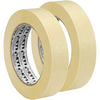 ETI Masking Tape for Carpenters & Painters 2 Roll of 24mm X 20Mtr