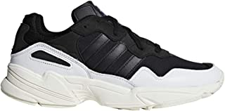 super popular 16d57 10384 adidas Originals Yung-96 - Men s White Black Off White Nylon Running Shoes