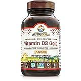 Nutrigold Food-Sourced Vitamin D3 5000 IU,...