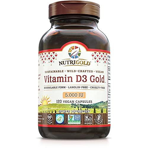 Nutrigold Food-Sourced Vitamin D3 5…
