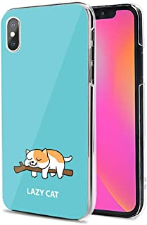 Huawei P40 Pro 5G ケース カバー スマホケース ハード TPU 素材 おしゃれ かわいい 耐衝撃 花柄 人気 全機種対応 怠惰な猫 アニマル アニメ かわいい 9795098