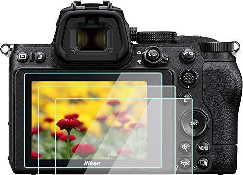 Z5 - Protector de pantalla para cámara digital Nikon Z 50 z50, vidrio templado KOMET 9H, antiburbujas, antiarañazos, antihuellas, ultratransparente, 3 unidades