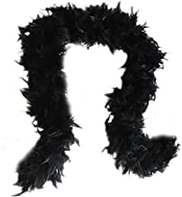 Best feather boa black Reviews