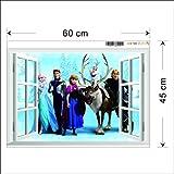 Zoom IMG-2 kibi adesivi muro frozen camera
