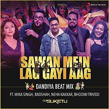 "Sawan Mein Lag Gayi Aag (Dandiya Beat Mix) (From ""Ginny Weds Sunny"")"
