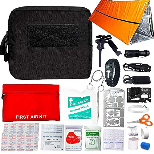molle ifak pouch with supplies