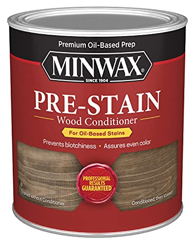 Minwax 61500444 Pre Stain Wood Conditioner, 1 Quart