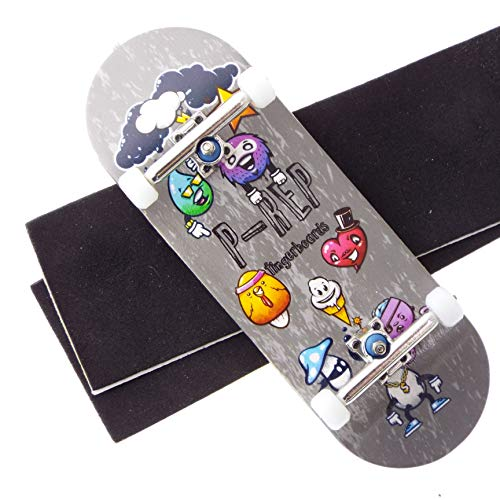 P-REP Solid Performance Complete Wooden Fingerboard 34mm x 100mm (Turnt Up Storm)
