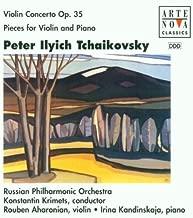 Violin Concerto / Three Pieces for Violin by Tchaikovsky, P.I. (1998-01-01)