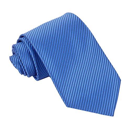 Tangda - Cravate Rayée Slim - HOMME - Fine Soie - 145cm