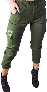 Calça feminina army jogger