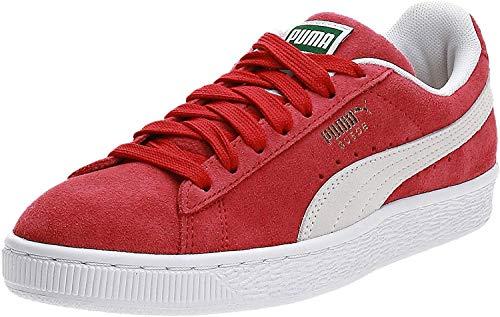 PUMA Suede Classic+, Sneaker, Rot (Team Regal red-White 5), 44 EU (9.5 UK)