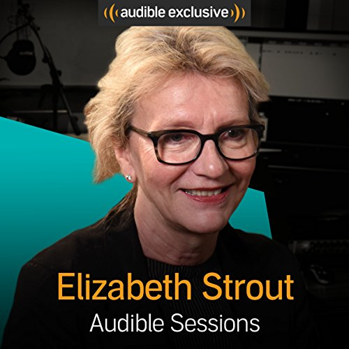 Elizabeth Strout audiobook cover art