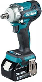 Makita DTW300TX2 18V Li-ion LXT Brushless Impact Driver Complete with 2 x 5.0 Ah Batteries and Charger Supplied in a Trade...