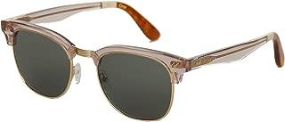 Toms 10014825 Womens Gavin Pink Carnation Frame Green Gradient Lens Square Sunglasses