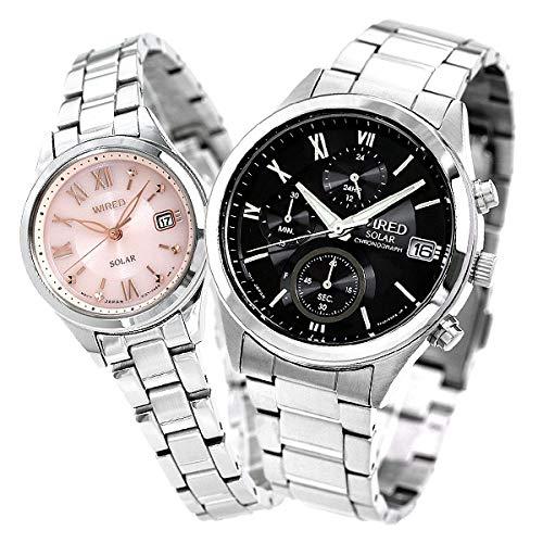 [セイコー]SEIKO 腕時計 ワイアード エフ WIRED カレンダー AGAD098 AGED105 ペアウォッチ メンズ レディース