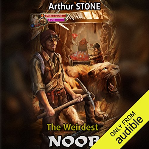 The Weirdest Noob audiobook cover art