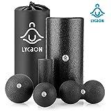 LYCAON EPP Foam Roller Set (6 PCS), Training...