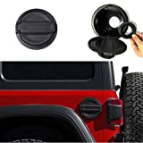 Micephon Gas Tank Cap Fuel Filler Door Cover for Jeep Wrangler JL JLU 2018+