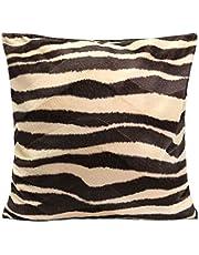 Homyl 45 x 45 cm, zachte luipaardkussenhoes, decoratief kussen voor bank of auto