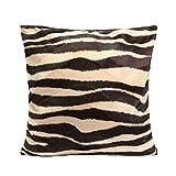 45x45cm Cubierta Funda Leopardo Cebra Impreso para Almohada Cojín Amortiguador de Sofá #03